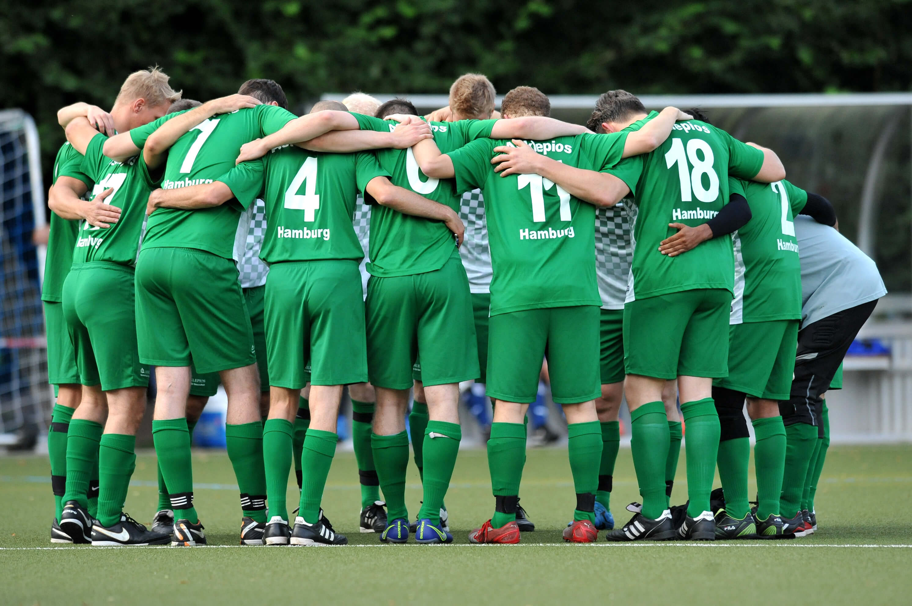 Asklepios vs HSV Benefizspiel