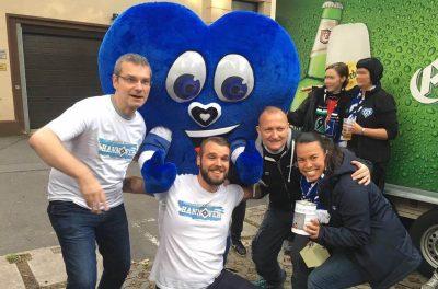 Spendenaktion in Hannover auf Fanfest 2017