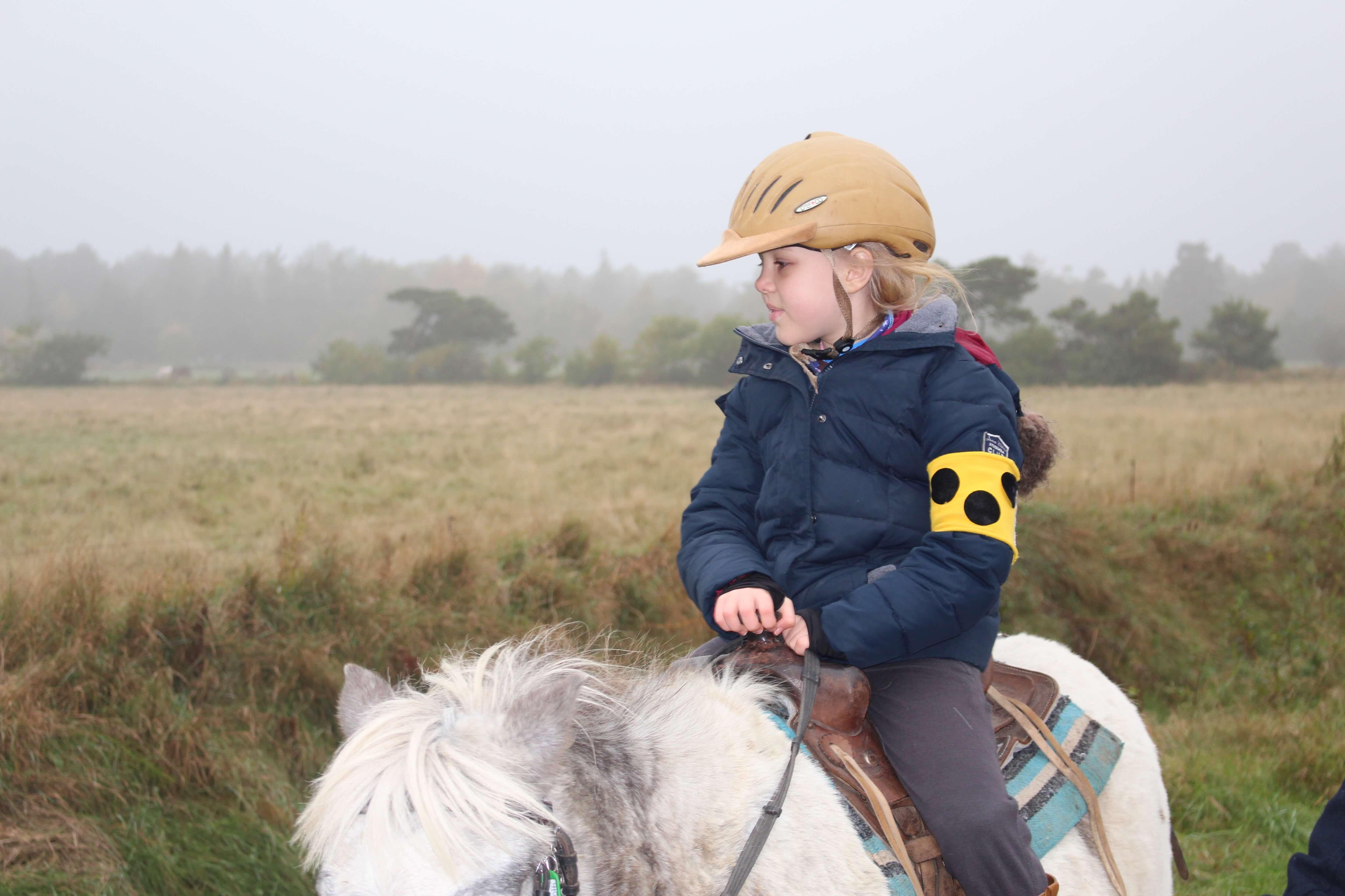 Sarah liebt Pferde