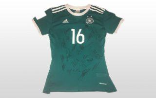 Signiertes Trikot der deutschen Frauenfußballnationalmannschaft