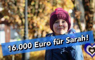 Danke für 16.000 Euro