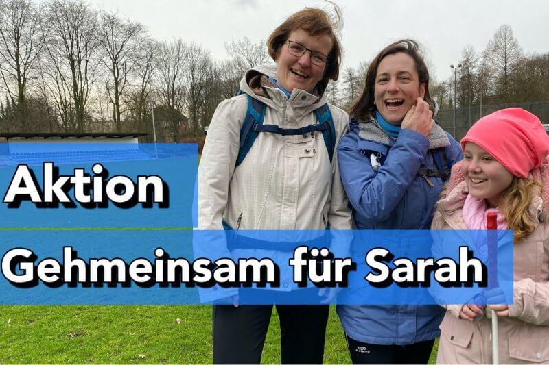 gehmeinsam für Sarah