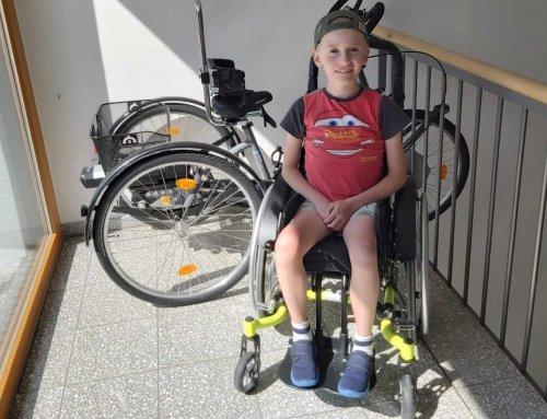 Spendenkampagne: Hilf Ben mobil zu bleiben